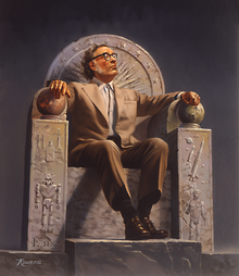 220px-Isaac_Asimov_on_Throne